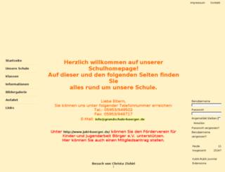 ghsboerger.de screenshot