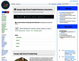 ghsfha.org screenshot