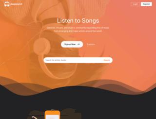 ghsoundz.com screenshot