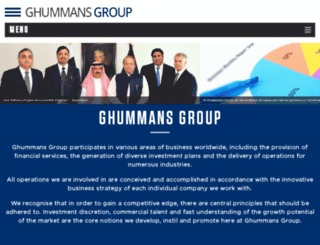ghummansgroup.com screenshot
