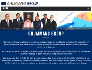 ghummansgroup.com screenshot