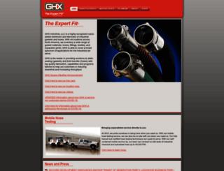 ghxinc.com screenshot