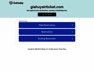 giahuyairticket.com screenshot