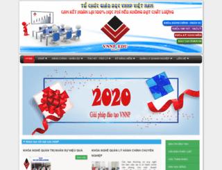 giaiphapdaotaovnnp.edu.vn screenshot