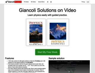 giancolianswers.com screenshot