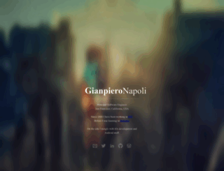 gianpieronapoli.com screenshot