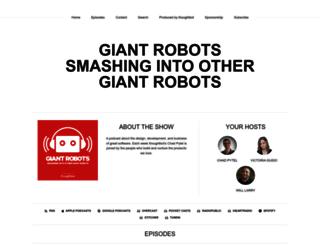 giantrobots.fm screenshot