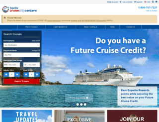 gianuzzi.cruiseshipcenters.com screenshot