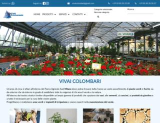 giardinicolombari.com screenshot