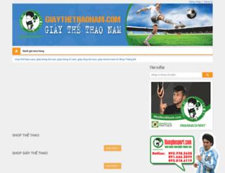 giaythethaonam.com screenshot