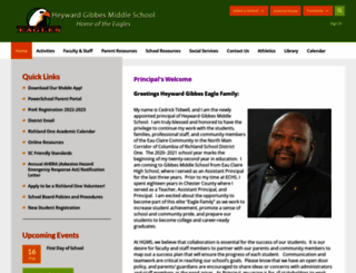 gibbes.richlandone.org screenshot