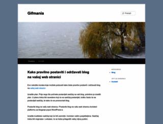 gifmania.com.hr screenshot