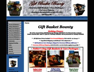 giftbasketbounty.com screenshot
