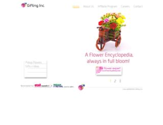 giftinginc.com screenshot