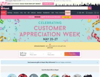 giftmandu.com screenshot