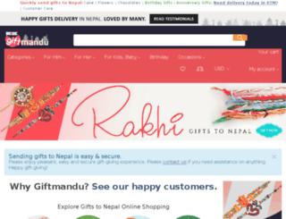 giftmandu.net screenshot