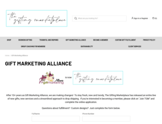 giftmarketingalliance.com screenshot