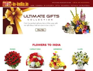 gifts-in-india.in screenshot
