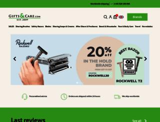 giftsandcare.com screenshot