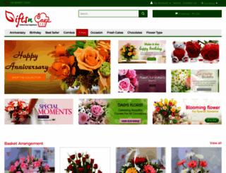 giftsncake.com screenshot