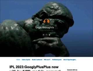 gigadom.wordpress.com screenshot