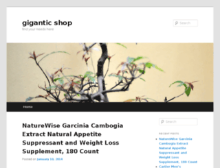 giganticshop.net screenshot