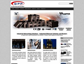 gigantika-industrial.co.id screenshot