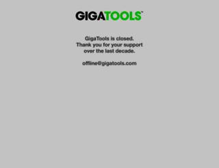 gigs.gigatools.com screenshot