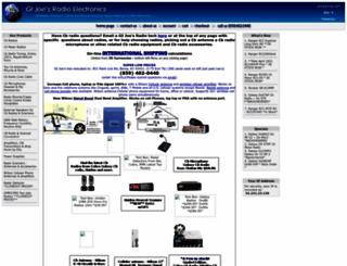 gijoesradioelectronics.com screenshot