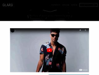 gilaasi.com screenshot