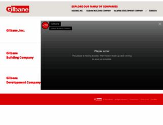 gilbaneco.com screenshot