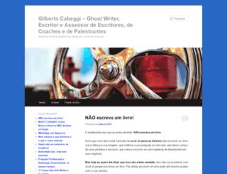 gilbertocabeggi.com.br screenshot