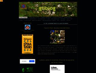 gilblog.fr screenshot