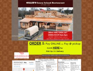 gilliesconeyisland.com screenshot