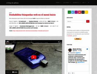 giltesa.com screenshot
