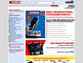 gimaitaly.com screenshot