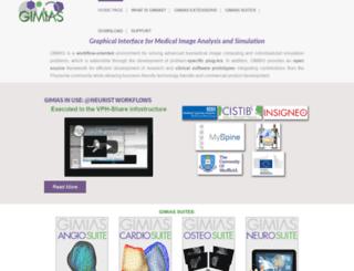 gimias.org screenshot