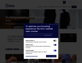gimv.com screenshot