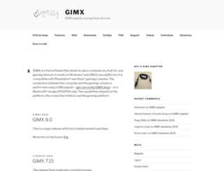 gimx.fr screenshot