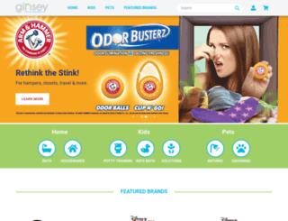 ginsey.com screenshot