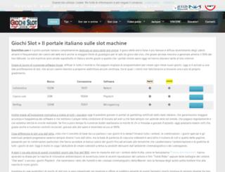 giochislot.com screenshot