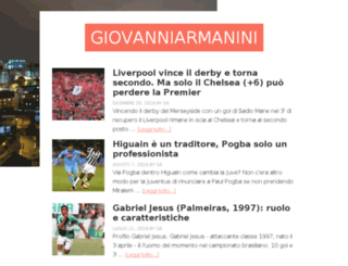 giovanniarmanini.com screenshot