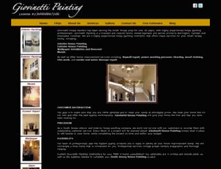 giovinettipainting.com screenshot