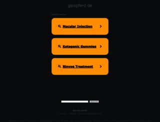 gipspferd.de screenshot