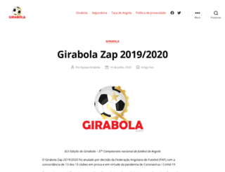 girabola.com screenshot