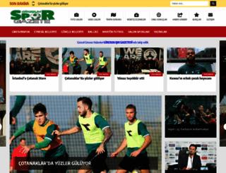 giresunsporgazete.com screenshot