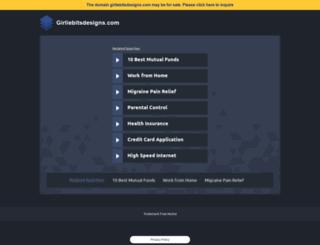 girliebitsdesigns.com screenshot
