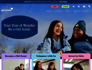 girlscouts.org screenshot