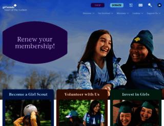 girlscoutshh.org screenshot