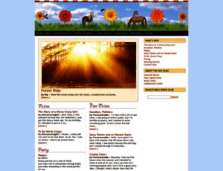 girlshorseclub.com screenshot